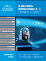 New Horizons Learning Catalog 2015